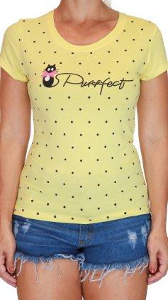 Imagem - Blusa Tshirt Estampa Localizada - Amarelo