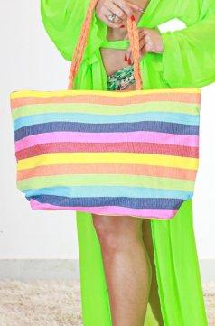 Imagem - Bolsa de Praia  - colorida