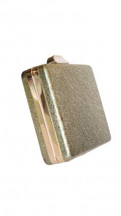 Imagem - Bolsa Clutch Básica - Dourado
