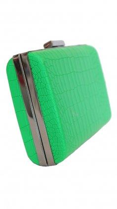Imagem - Bolsa Clutch Color - Verde