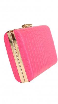 Imagem - Bolsa Clutch Color - Rosa