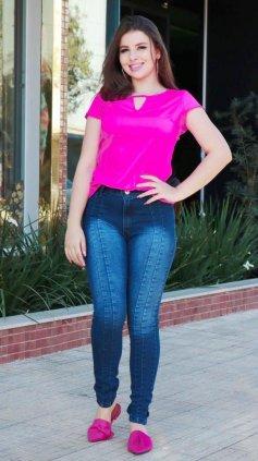 Imagem - Calca Jeans Azul Slin - Jeans