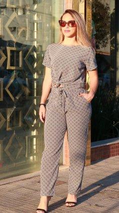 Imagem - Conjunto Blusa & Calça - Estampado