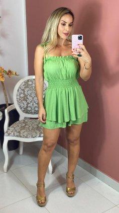Imagem - Macaquinho Com Bojo - Verde Claro