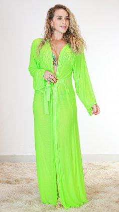 Imagem - Saida Tule Especial  - Verde Neon