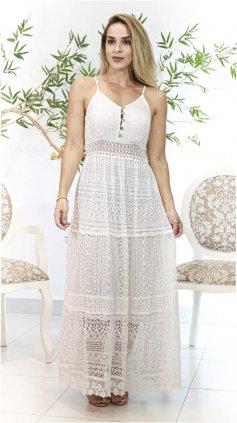 Imagem - Vestido Exclusiva Vestido-larys - Off White