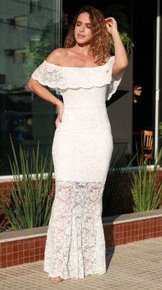 Imagem - Vestido Timeless Ciganinha O20 - Branco