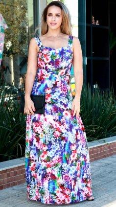 Imagem - Vestido Mina Estampado - Floral