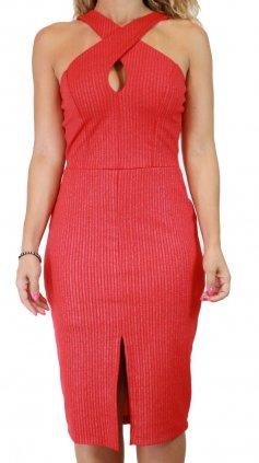 Imagem - Vestido Shine 911191 - Vermelho