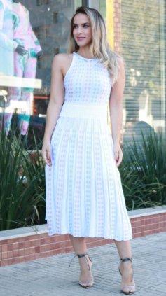 Imagem - Vestido Ticô Modal - Off White