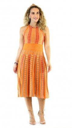 Imagem - Vestido Ticô Modal - Laranja