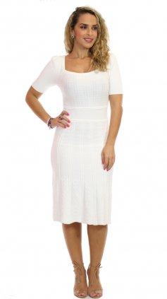 Imagem - Vestido Timeless Modal O20 - Branco