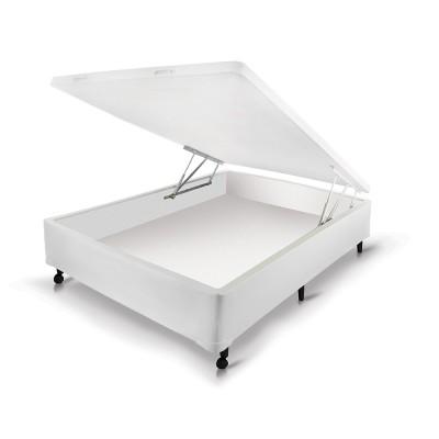 Box Castor Baú Universal Branco New