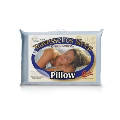Travesseiro Castor Sleep Pillow - 100% Algodão
