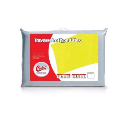 Travesseiro Castor Type Latex - 57% Fibra de Bambu 43% Algodão