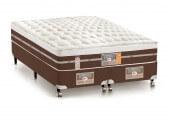 Imagem do produto - Conjunto Cama Box - Colchão Castor Silver Star Pocket® Híbrido AIR com Box SI