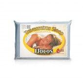 Imagem do produto - Travesseiro Castor Sleep Flocos Sel. - 100% Algodão