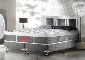 Imagem do produto - Cama Box + Colchão Castor King Size Plush Light Stress 180x200x74cm