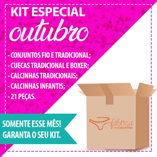Kit especial Outubro- Promocional Outubro
