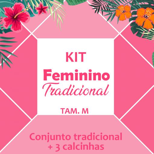 kit feminino - 4 peças tradicionais (M)