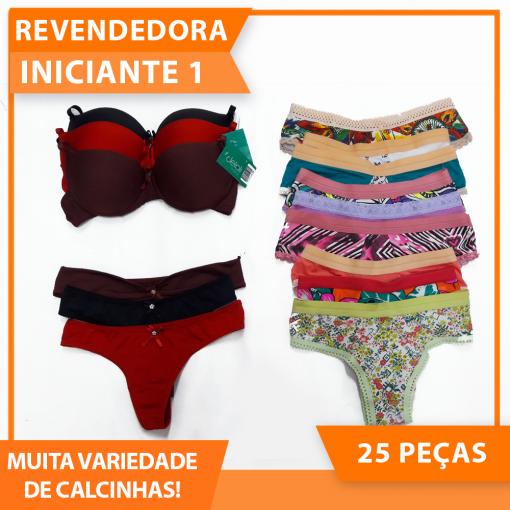 kit Revenda Iniciante 1- Promoção mês maio
