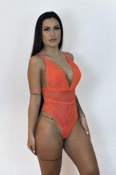 Imagem - Body em Tule com Renda cód: 39837002