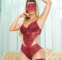Imagem - Body Rendado com Máscara cód: 43478002