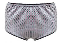Imagem - Calçola Plus Size - Estampada em Cotton  cód: 43710003