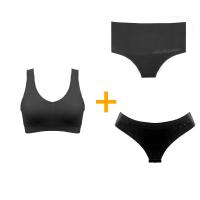 Imagem - Combo Fitness - 1 Sutiã + 2 Calcinhas cód: kitfitness