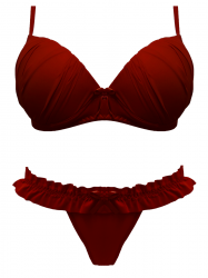 Imagem - Conjunto Tradicional Drapeado - Calcinha Fru Fru - 41610001