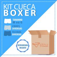 CUECA BOXER KIT C/ 3 VARIADAS