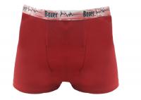 Imagem - Cueca Boxer Lisa com Cós Estampado - 27138001