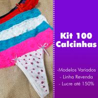 Imagem - KIT 100 CALCINHAS - Modelo Promocional cód: kit