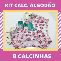 Imagem - Kit Calcinhas Algodão - 8 Peças cód: kit191