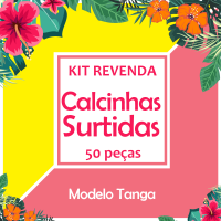 Kit calcinhas surtidas