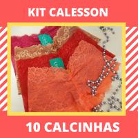 Imagem - Kit Calesson (shortinho) - 10 Calcinhas cód: kit028