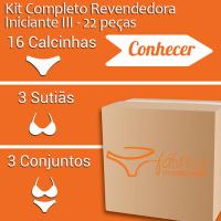 Kit Completo Revendedora Iniciante III - 22 peças