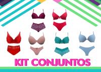 Imagem - Kit Conjuntos  - Novidades cód: kit
