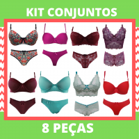 Imagem - Kit Conjuntos Promocionais - 8 Peças cód: kit
