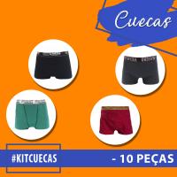 Kit Cuecas Promocionais - 10 Peças
