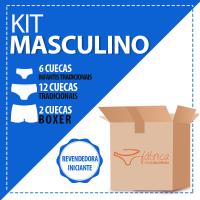 Kit  Cuecas Revendedora Iniciante II -20 peças