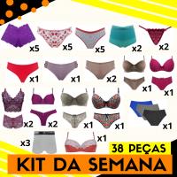 Imagem - Kit da Semana - 38 Peças cód: kit