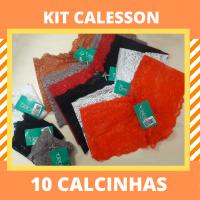 Imagem - Kit de Calcinhas Calesson - 10 Peças cód: kit