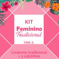 kit feminino - 4 peças tradicionais  (GG)