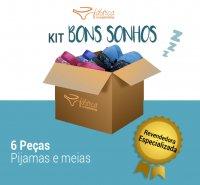 Kit Inverno - Bons Sonhos - 6 Peças