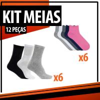 Imagem - Kit Meias - Femininas e Masculinas cód: kit
