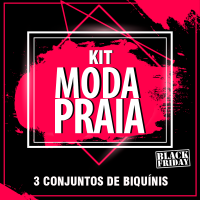 Kit Moda Praia- Black Friday