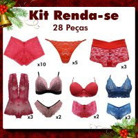 Imagem - Kit Natal - Renda-se cód: kitnatal6