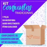 Kit Revenda - Conjuntos Tradicionais - 7 peças.
