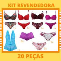 Imagem - Kit Revendedora Vip - 20 Peças cód: kit